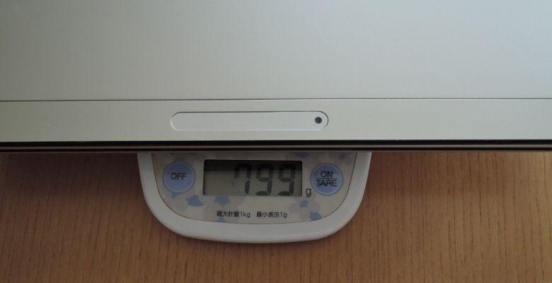 NEC LAVIE Direct HZ(D) キーボードセット 重量