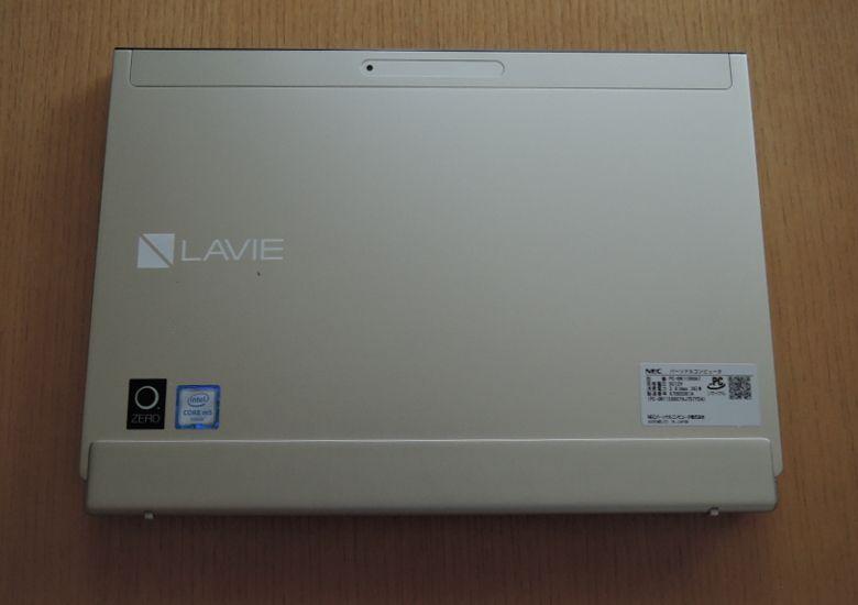 NEC LAVIE Direct HZ(D) キーボードセット 上面