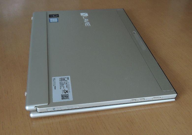 NEC LAVIE Direct HZ(D) キーボードセット 斜めから