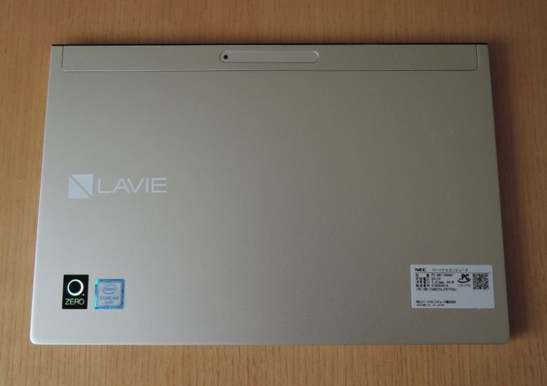 NEC LAVIE Direct HZ(D) 背面