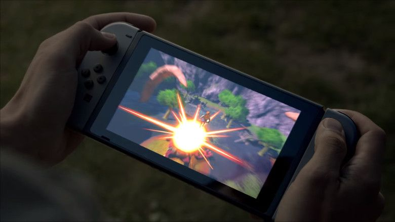 NINTENDO SWITCH これが本体?
