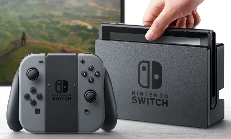 NINTENDO SWITCH 製品画像