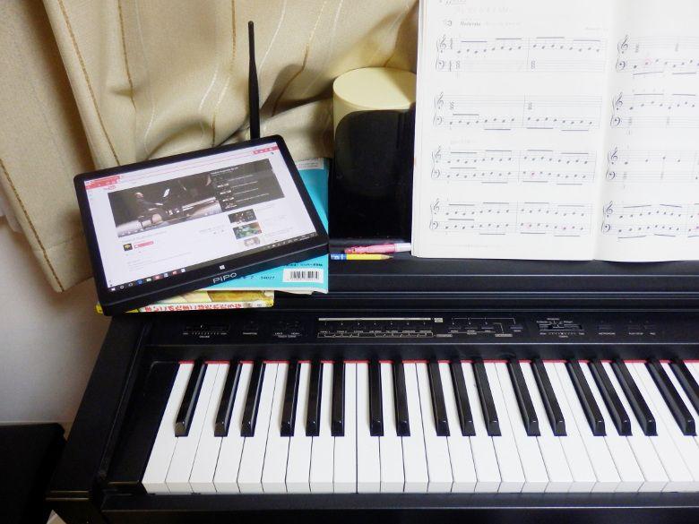 PIPO X10 ピアノと