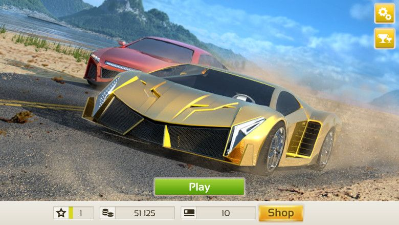 Racing 3D: Need For Race on Real Asphalt Speed Tracks 起動画面