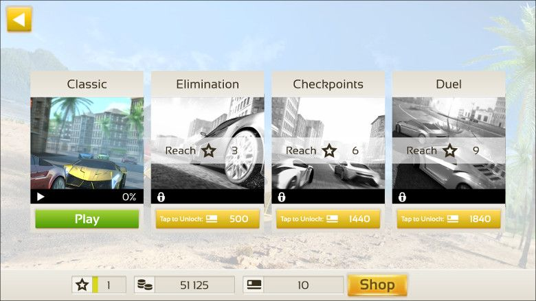 Racing 3D: Need For Race on Real Asphalt Speed Tracks ゲーム種類