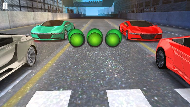 Racing 3D: Need For Race on Real Asphalt Speed Tracks レース開始