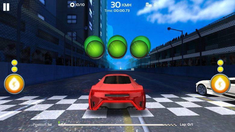 Racing 3D: Need For Race on Real Asphalt Speed Tracks 操作