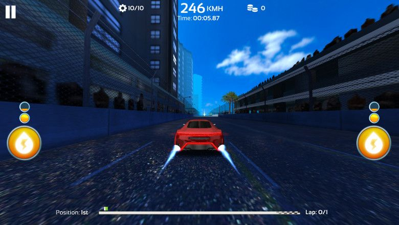 Racing 3D: Need For Race on Real Asphalt Speed Tracks グラフィック
