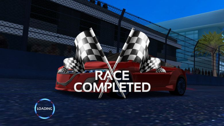 Racing 3D: Need For Race on Real Asphalt Speed Tracks フィニッシュ