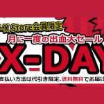 セール情報 - NTT-Xストア、10月26日に「X-DAY」開催!ノートPCとか3DS LLとかが破格値になるみたいよ!