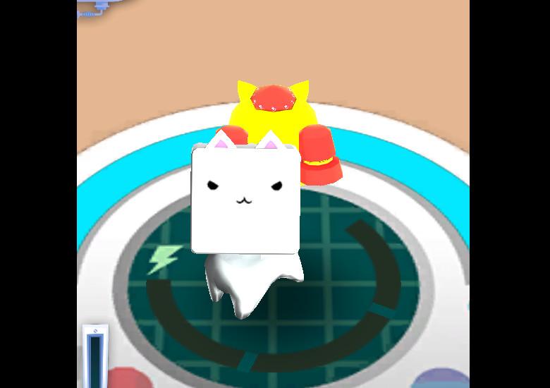 Cube Cat ゲームスタート
