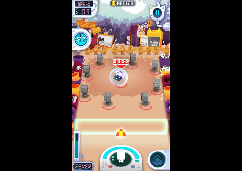 Cube Cat ボス戦