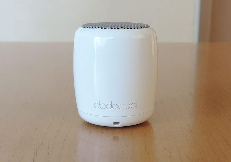 dodocool Bluetooth ミニスピーカー 前面