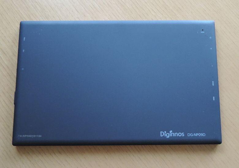 ドスパラ Diginnos DG-NP09D 背面