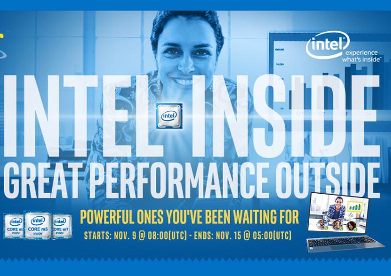 Gearbest Intel Insideセール