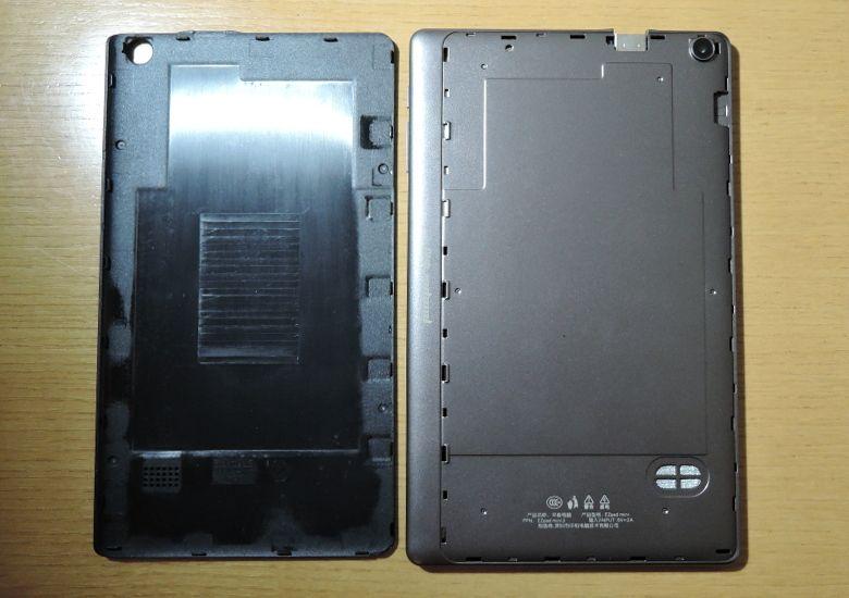 Jumper EZPad mini 3 背面カバーを外す