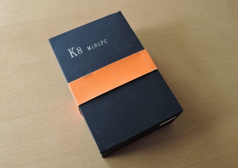 K8 MiniPC 外箱