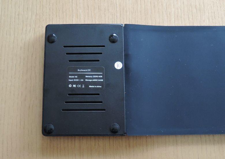 K8 MiniPC 本体底面