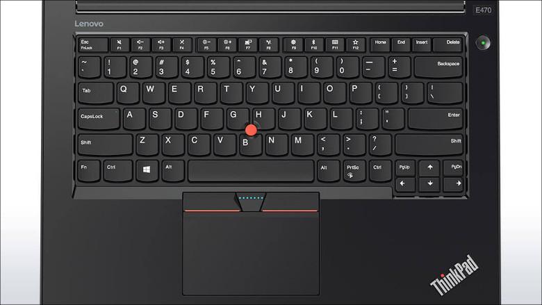 Lenovo ThinkPad E470 キーボード