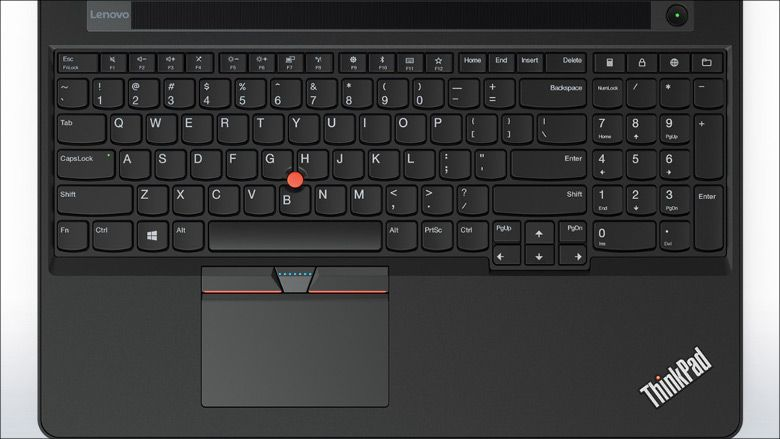 Lenovo ThinkPad E570 キーボード