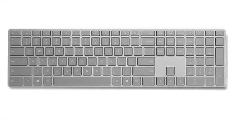 Microsoft Surfaceキーボード 表面