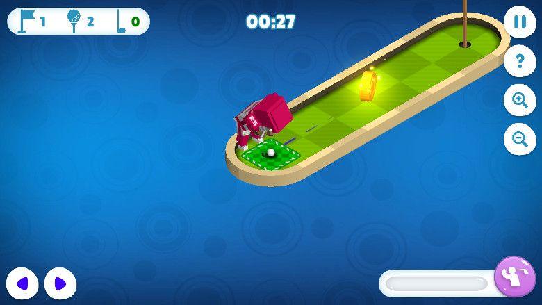 Mini Golf Buddies スマホ画面