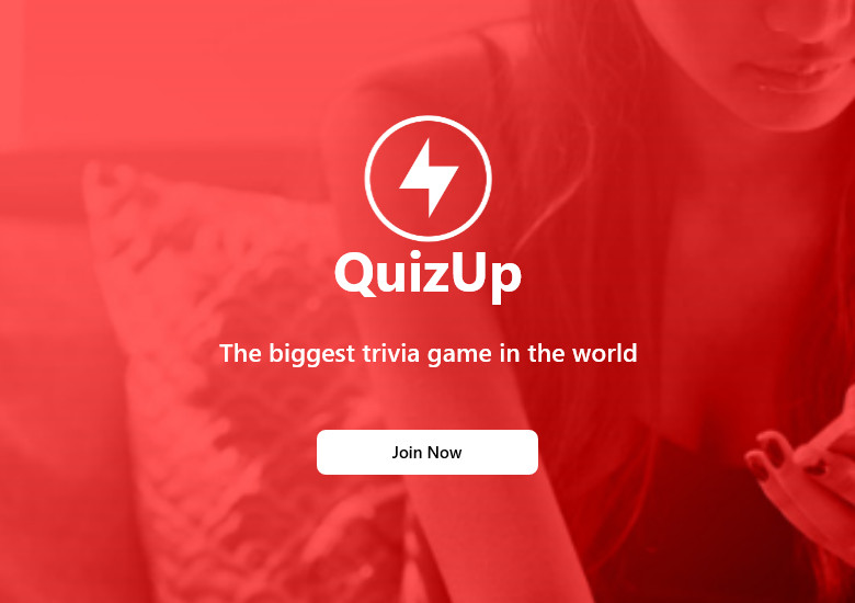 QuizUp アプリを起動