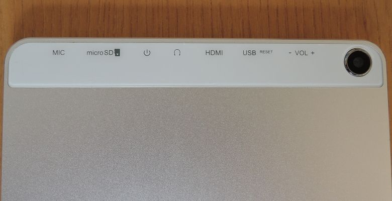 TJC Metal Tablet 10 背面上