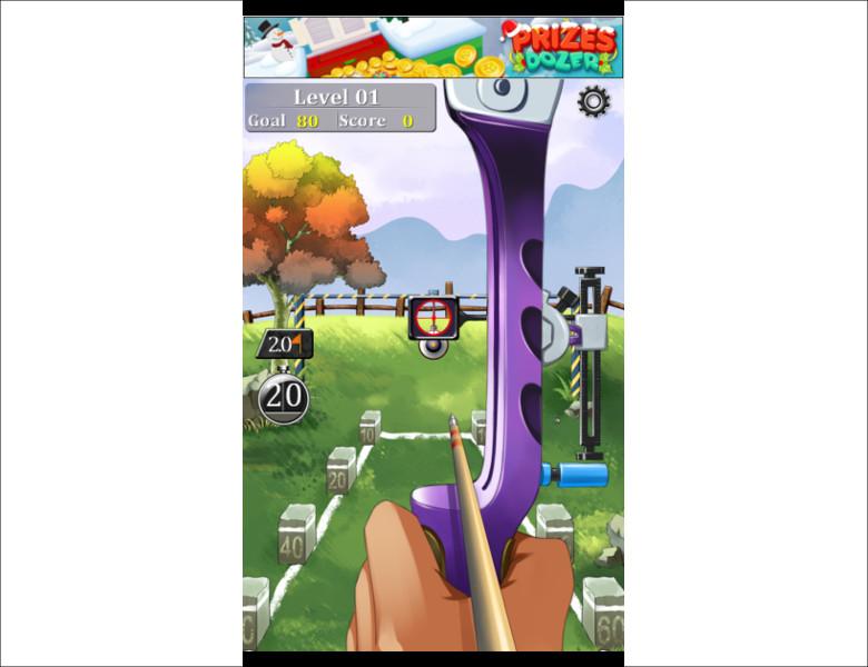 AE Archer ゲーム画面