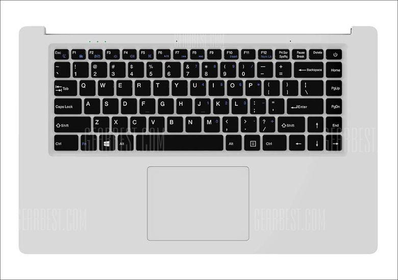 Chuwi LapBook 14.1 キーボード