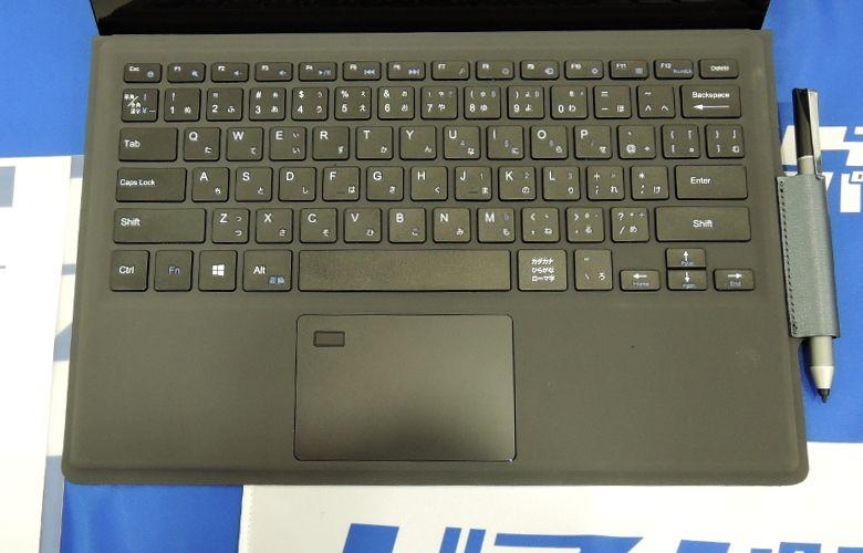 ドスパラの展示会にて Diginnos DGM-S12Yのキーボード