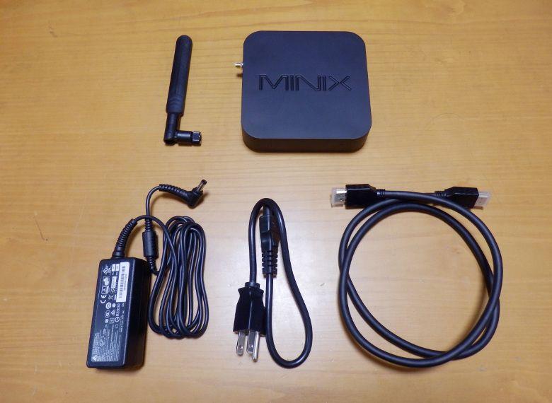 MINIX NEO Z83-4 同梱物2