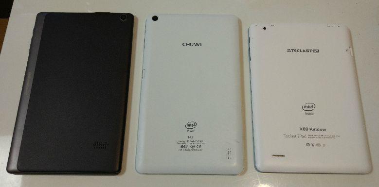 Jumper EZpad mini 3 サイズ比較1