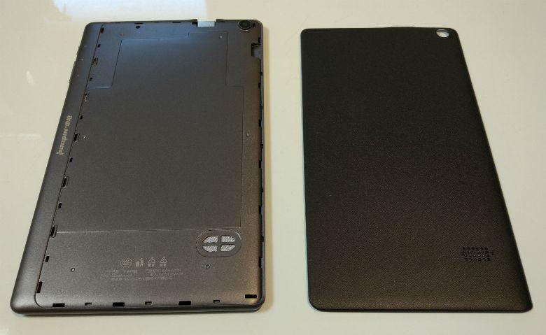 Jumper EZpad mini 3 カバー外し