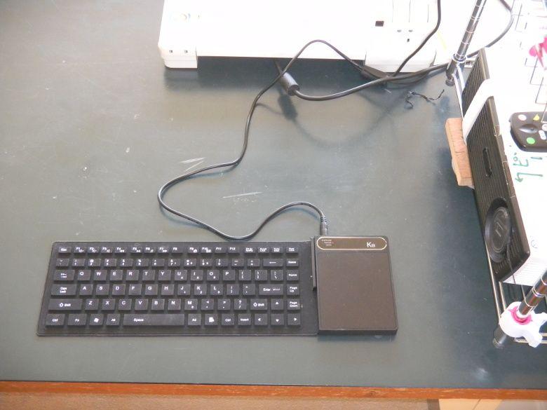 K8 キーボードPC 読者レビュー 理科室