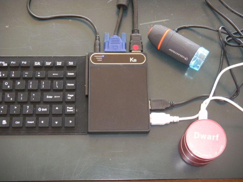 K8 キーボードPC 読者レビュー 周辺機器接続