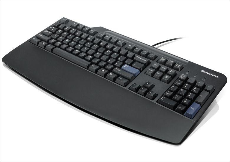 Lenovo プリファード・プロUSBキーボード パームレスト装着