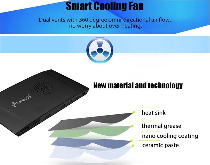 MeeGoPad T09 冷却ファン