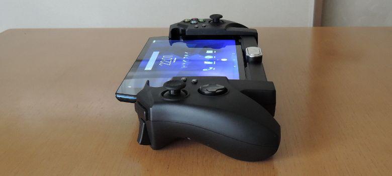 WinkPax G1 コントローラー装着 横から