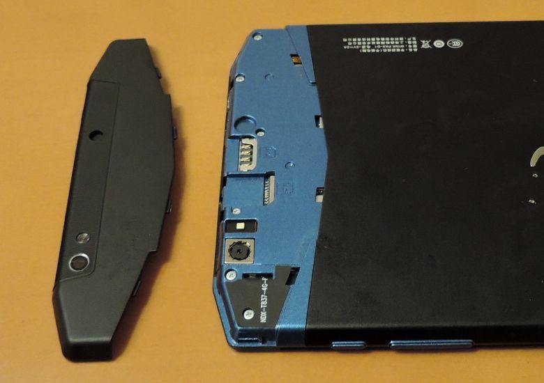 WinkPax G1 SIMとSDスロット