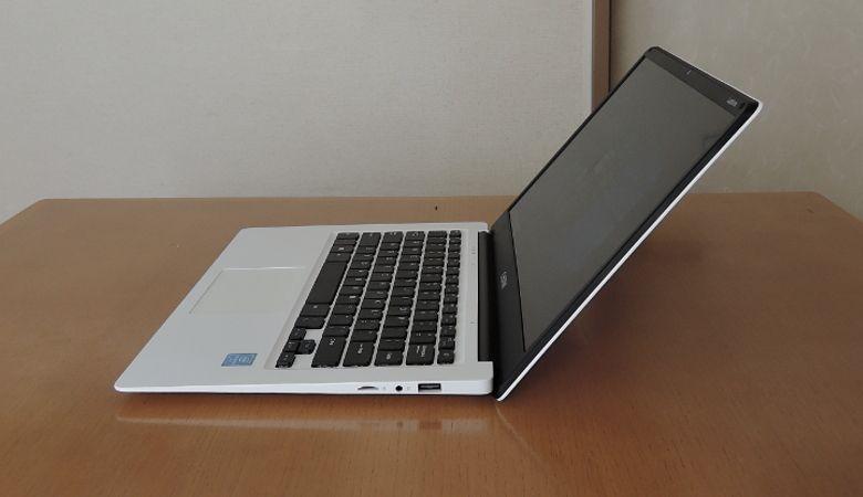 Chuwi LapBook 14 ヒンジ最大開口