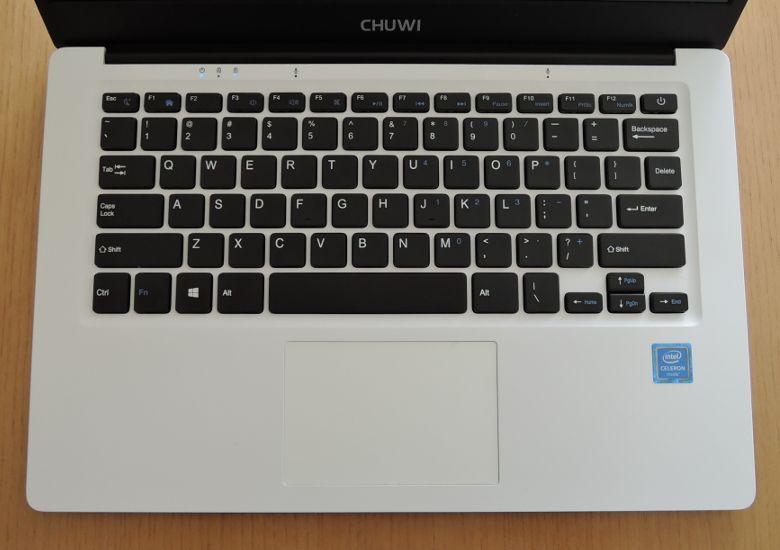 Chuwi LapBook 14 キーボード