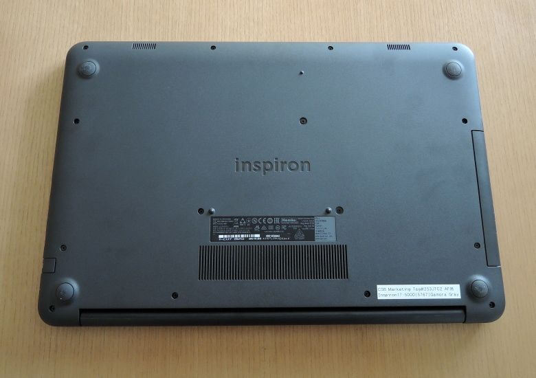 DELL Inspiron 17 5000 底面