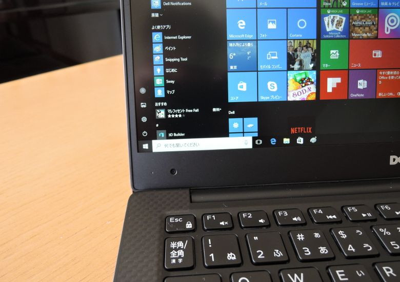 DELL XPS 13 Webカメラ