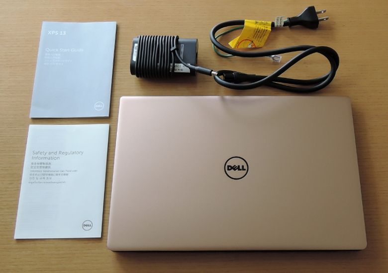 DELL XPS 13 同梱物