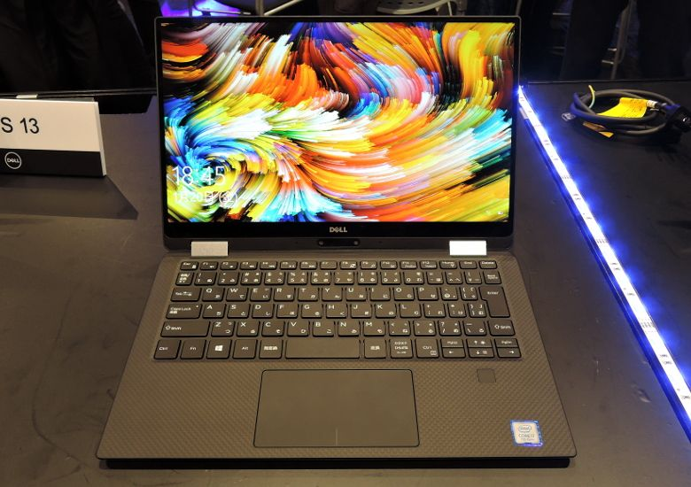 DELL XPS 13 2 in 1 正面