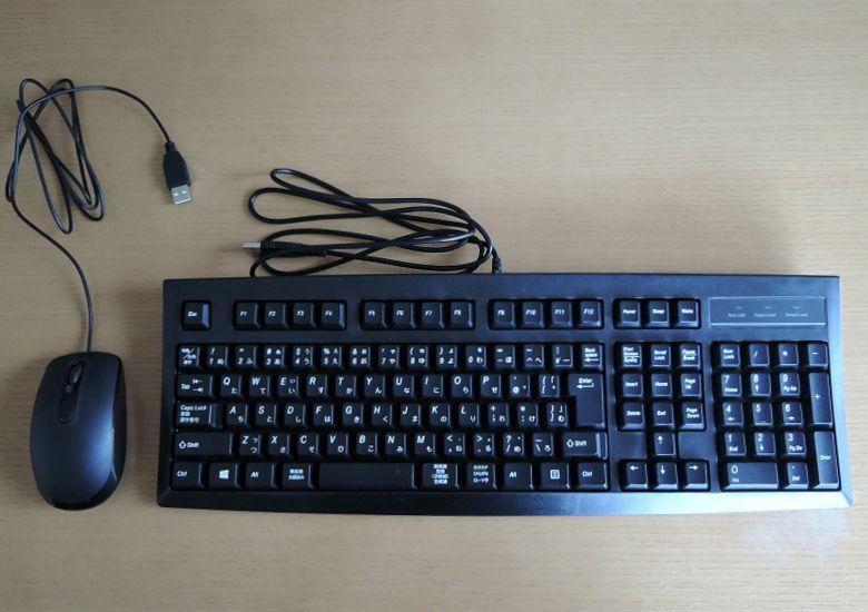 Diginnos mini DM110-S3 付属キーボードとマウス