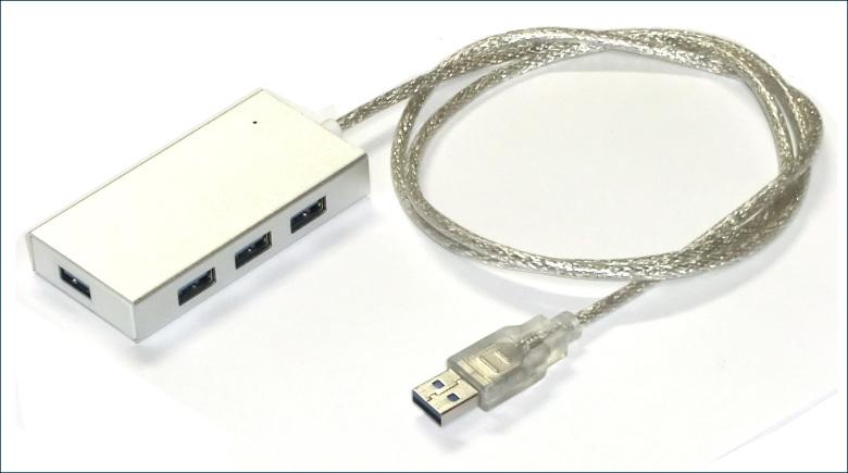 USB 3.0 ハブ HWUH3