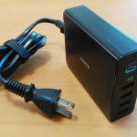 Anker PowerPort+5 USB-C Power Delivery ― 5Vから20Vまでこれ1台でいけるぜ。電源まわりをすっきりと(実機レビュー:natsuki)