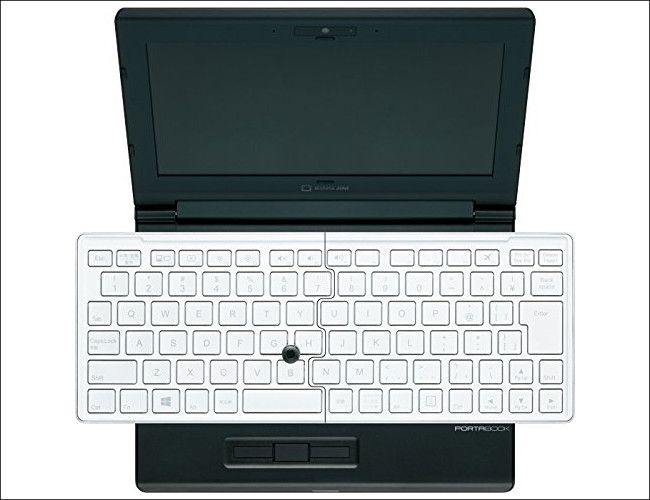 KINGJIM PORTABOOK XMC 10 キーボード